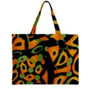 Abstract animal print Zipper Mini Tote Bag View1