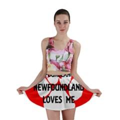 My Newfie Loves Me Mini Skirt