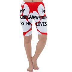 My Newfie Loves Me Cropped Leggings