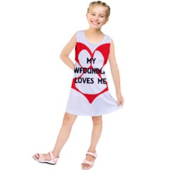 My Newfie Loves Me Kids  Tunic Dress by TailWags