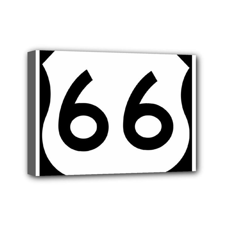 U.S. Route 66 Mini Canvas 7  x 5
