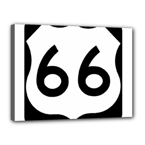 U S  Route 66 Canvas 16  X 12  by abbeyz71