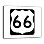 U.S. Route 66 Canvas 20  x 16