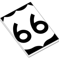 U S  Route 66 Large Memo Pads