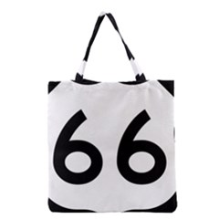 U S  Route 66 Grocery Tote Bag by abbeyz71