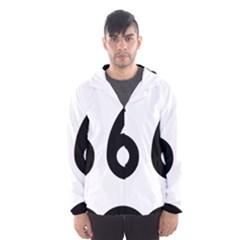 U S  Route 66 Hooded Wind Breaker (men)