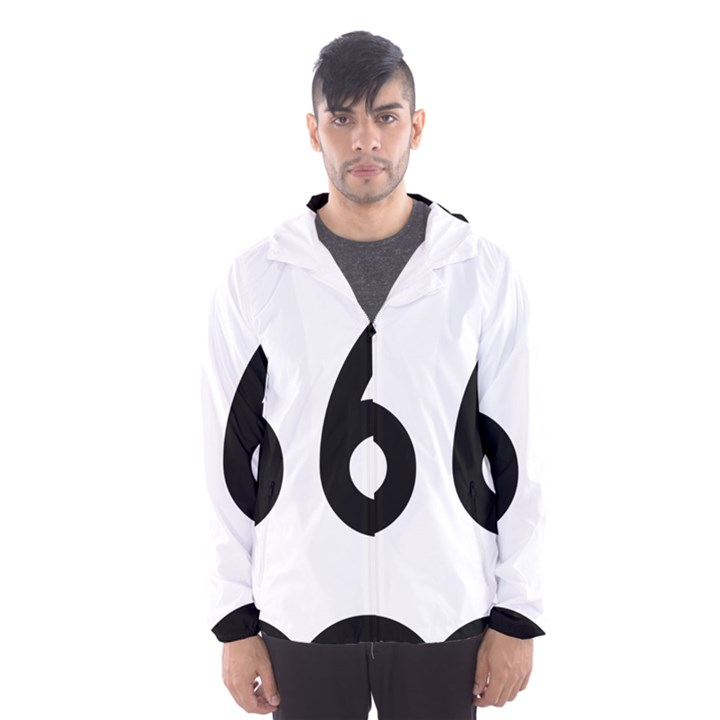 U.S. Route 66 Hooded Wind Breaker (Men)