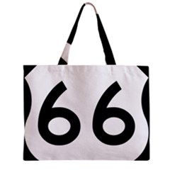 U S  Route 66 Zipper Mini Tote Bag by abbeyz71