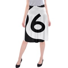 U S  Route 66 Midi Beach Skirt