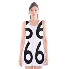 U S  Route 66 Scoop Neck Skater Dress by abbeyz71