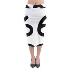 U S  Route 66 Midi Pencil Skirt by abbeyz71