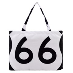 U S  Route 66 Medium Zipper Tote Bag by abbeyz71