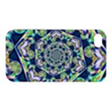 Power Spiral Polygon Blue Green White Apple iPhone 4/4S Premium Hardshell Case View1