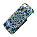 Power Spiral Polygon Blue Green White Apple iPhone 4/4S Premium Hardshell Case View4