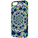 Power Spiral Polygon Blue Green White Apple iPhone 5 Classic Hardshell Case View3
