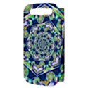 Power Spiral Polygon Blue Green White Samsung Galaxy S III Hardshell Case (PC+Silicone) View3