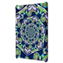 Power Spiral Polygon Blue Green White Apple iPad Mini Hardshell Case View3