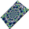 Power Spiral Polygon Blue Green White Apple iPad Mini Hardshell Case View4