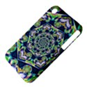 Power Spiral Polygon Blue Green White Apple iPhone 3G/3GS Hardshell Case (PC+Silicone) View4