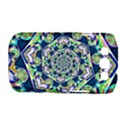Power Spiral Polygon Blue Green White Samsung Galaxy S III Classic Hardshell Case (PC+Silicone) View1