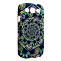 Power Spiral Polygon Blue Green White Samsung Galaxy S III Classic Hardshell Case (PC+Silicone) View2