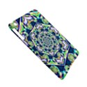 Power Spiral Polygon Blue Green White Apple iPad Mini Hardshell Case (Compatible with Smart Cover) View5