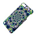 Power Spiral Polygon Blue Green White Apple iPod Touch 5 Hardshell Case with Stand View4