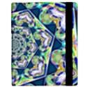 Power Spiral Polygon Blue Green White Samsung Galaxy Tab 10.1  P7500 Flip Case View3