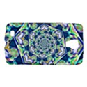 Power Spiral Polygon Blue Green White Galaxy S4 Active View1
