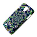 Power Spiral Polygon Blue Green White Galaxy S4 Active View4