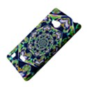 Power Spiral Polygon Blue Green White Nokia Lumia 720 View4