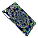 Power Spiral Polygon Blue Green White iPad Air Hardshell Cases View5