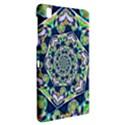 Power Spiral Polygon Blue Green White Samsung Galaxy Tab Pro 8.4 Hardshell Case View2