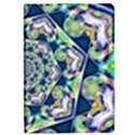 Power Spiral Polygon Blue Green White iPad Mini 2 Flip Cases View1