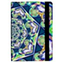 Power Spiral Polygon Blue Green White iPad Mini 2 Flip Cases View2