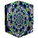 Power Spiral Polygon Blue Green White iPad Mini 2 Flip Cases View3