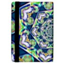 Power Spiral Polygon Blue Green White iPad Mini 2 Flip Cases View4