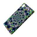 Power Spiral Polygon Blue Green White Sony Xperia Z3+ View4