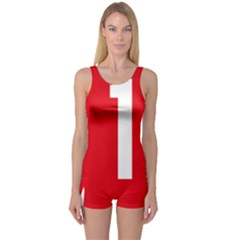 New Zealand State Highway 1 One Piece Boyleg Swimsuit by abbeyz71