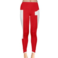 New Zealand State Highway 1 Leggings