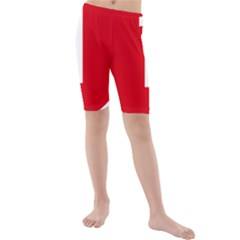 New Zealand State Highway 1 Kids  Mid Length Swim Shorts