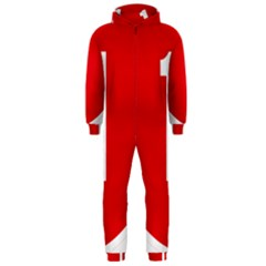 New Zealand State Highway 1 Hooded Jumpsuit (men)  by abbeyz71