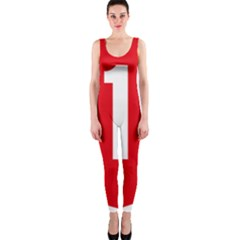 New Zealand State Highway 1 OnePiece Catsuit