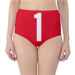 New Zealand State Highway 1 High-Waist Bikini Bottoms