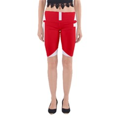 New Zealand State Highway 1 Yoga Cropped Leggings
