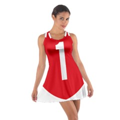 New Zealand State Highway 1 Cotton Racerback Dress