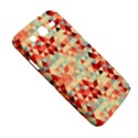 Modern Hipster Triangle Pattern Red Blue Beige Samsung Galaxy Mega 5.8 I9152 Hardshell Case  View5