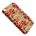Modern Hipster Triangle Pattern Red Blue Beige Samsung Galaxy Tab 3 (8 ) T3100 Hardshell Case  View5