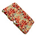 Modern Hipster Triangle Pattern Red Blue Beige Samsung Galaxy Tab 3 (10.1 ) P5200 Hardshell Case  View5
