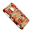 Modern Hipster Triangle Pattern Red Blue Beige Nokia Lumia 620 View5